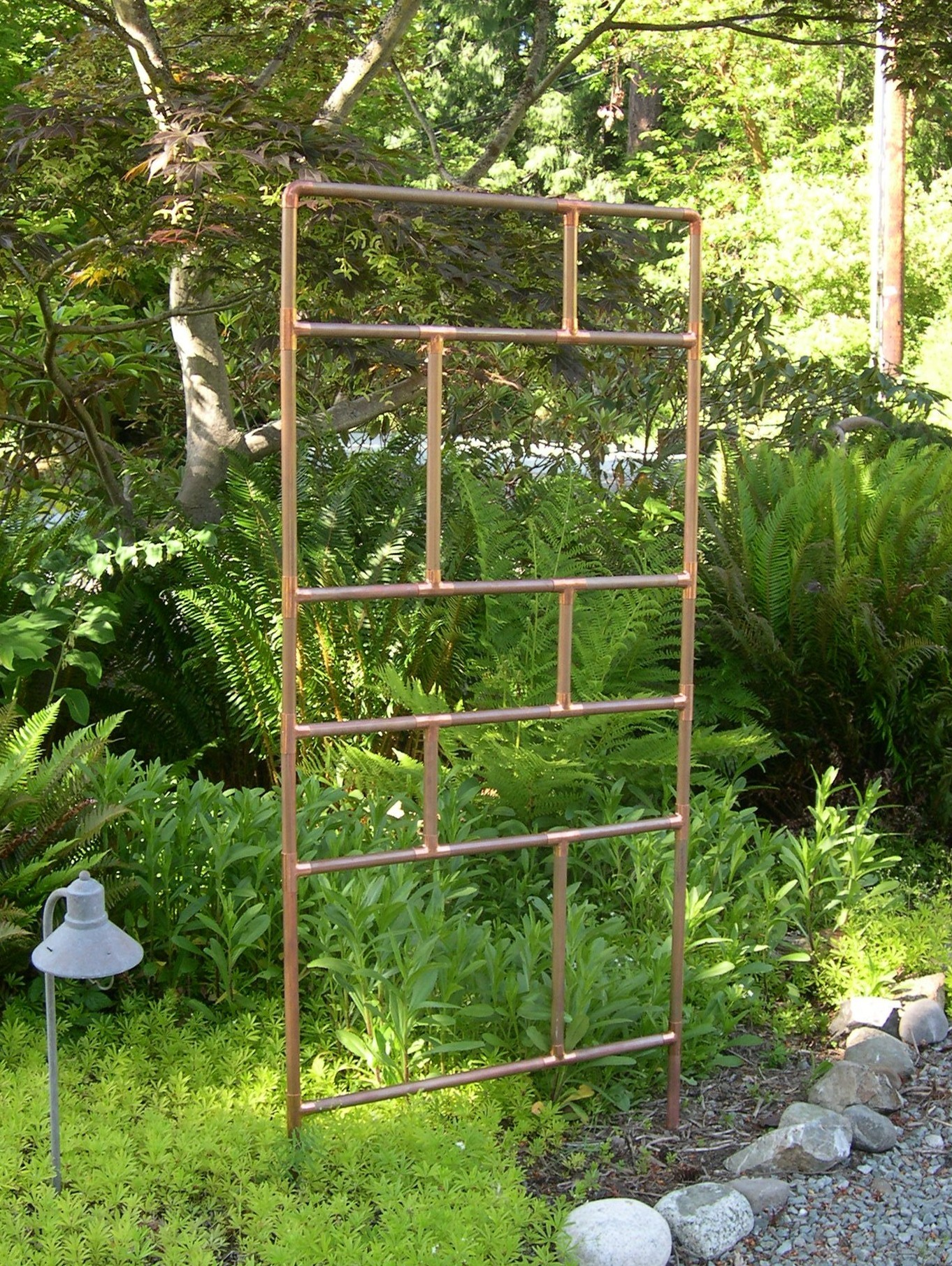 Unique Garden Trellis Ideas Photograph COPPER TRELLISES A