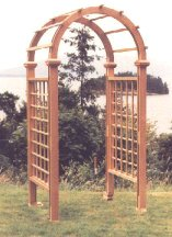 The Rose Garden Arch, click to see larger photo.